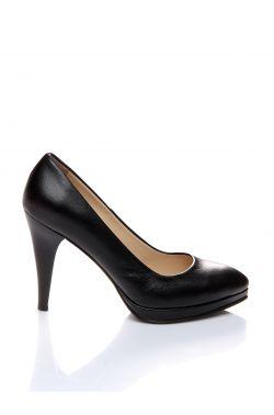 169 Shoes Tıme Platform Ayakkabı Siyah Rugan